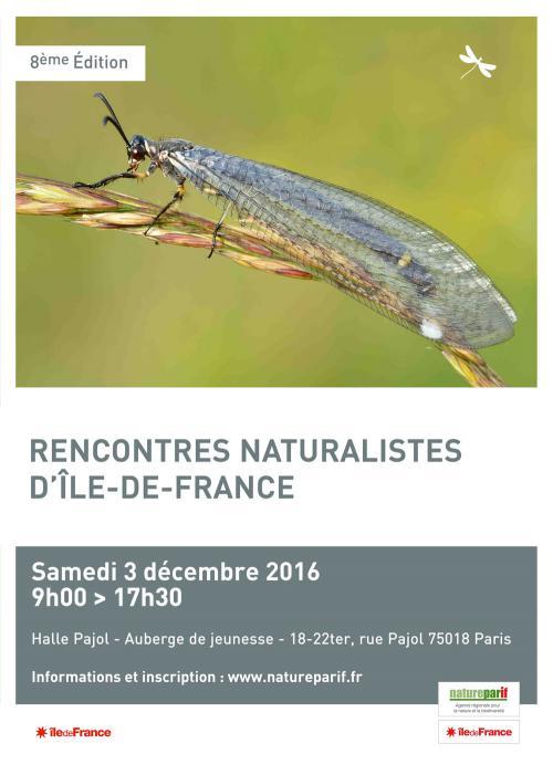 Natureparif rencontres naturalistes rencontres de cinéma canal plus
